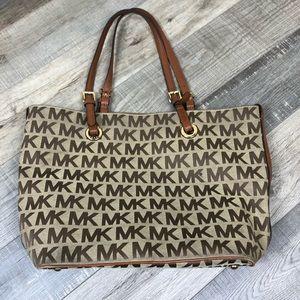 MICHAEL KORS | Jet Set Grab Bag Shoulder Tote Love